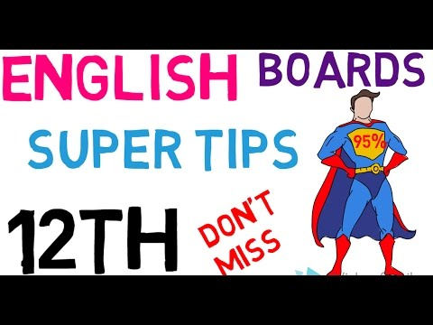How to score 95% in English | Tips and Tricks | Exclusive