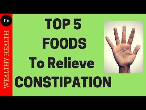 Top 5 foods that act as Natural Laxatives and relieve Constipation - WealthyHealth