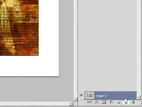 Photoshop CS4 - Working With Layers