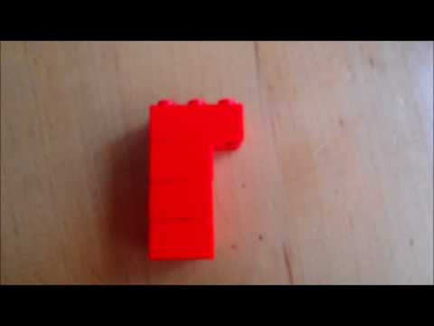 How to make a LEGO pistol.
