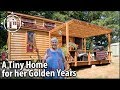 She Retired Into A Tiny House (With A Hot Tub) For Her Senior Years mp3
