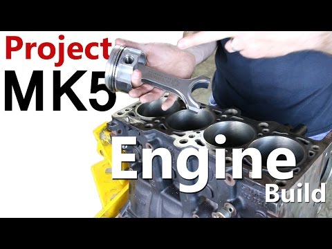 Big Turbo VW GTI Lower Engine Build | Project MK5 Ep 1