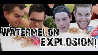Watermelon Explosion Challenge!