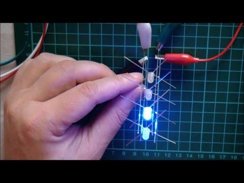 Arduino charlieplexed RGB cube - part 2