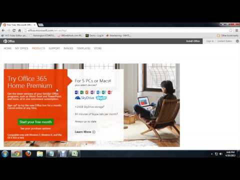 How to Install Microsoft Office Trial : Tech Niche