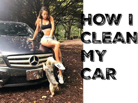How I CLEAN my car