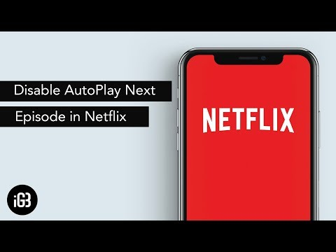 How to disable autoplay episode in Netflix