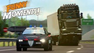 Download EP.#12 - Funny & Random Moments - Euro Truck Simulator 2 Video