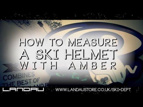 How to Measure a Ski Helmet (Landau)