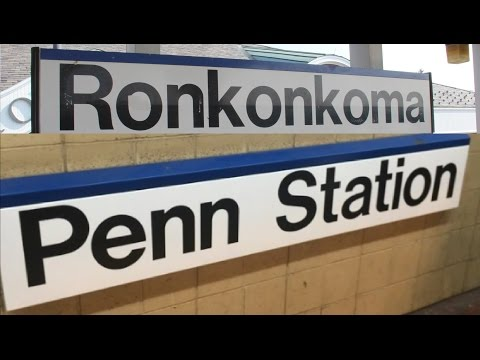 Ronkonkoma to Penn Station New York City NYC LIRR MTA Trains for Kids Children Toddlers Videos