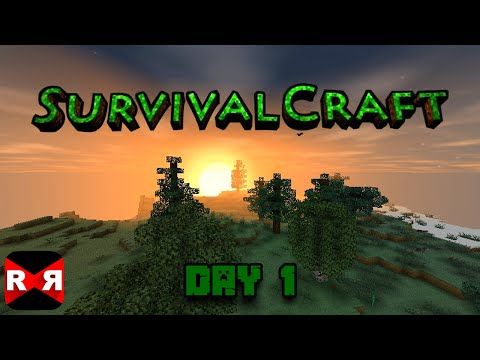 How to survive in Survivalcraft - Day 1 Walkthrough