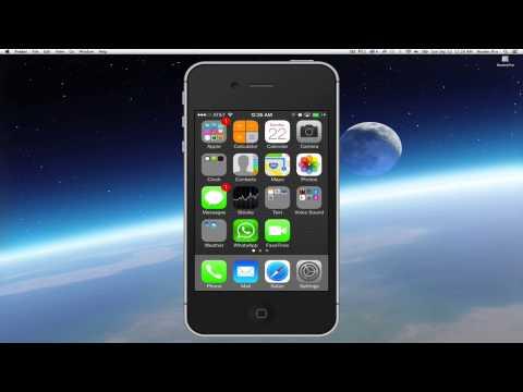 iOS 7 Delete App Force Quit App