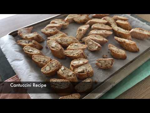 Cantuccini (Almond Cookies) - Episode 347 - Baking with Eda
