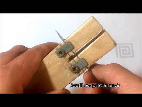 Comment faire un Outil découpeur de bouteilles en plastique / Plastic bottle cutter