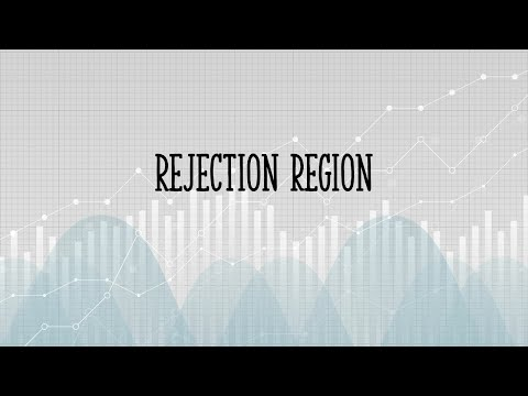 What is a Rejection Region?