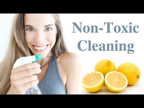 MY NON-TOXIC CLEANING GUIDE!