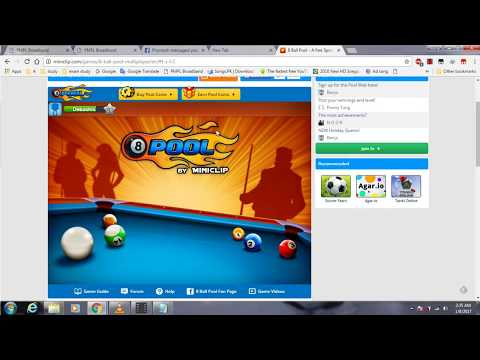 how to play 8 ball pool with friend for computer users watch and apply 100% work..