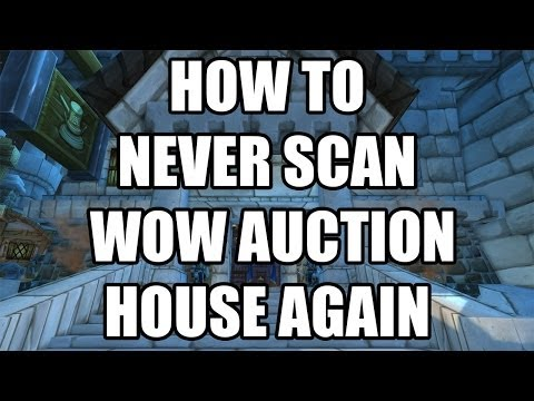 Never scan the WOW Auction House Again