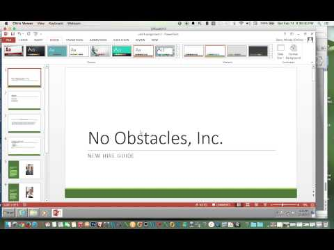 Change Variant of Theme in PowerPoint 2013