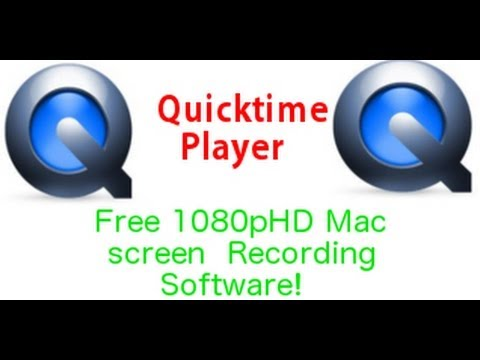 QuickTime Player: Mac Screen Recording Software!