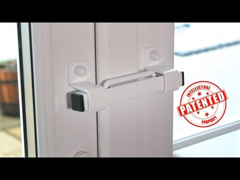 The Burglarybuster 1 French Door Security Device