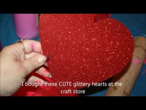 Valentines Day Treat and Card holder/Diy/kid craft