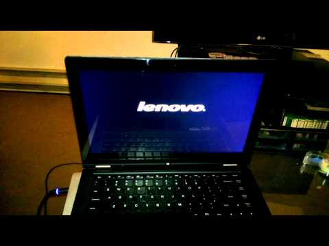 Lenovo Ideapad Yoga 13 - Boot Time