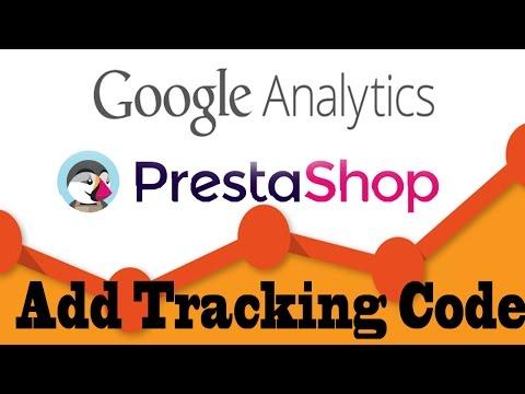 Prestashop Tutorial- Add Google Analytics Code Easily
