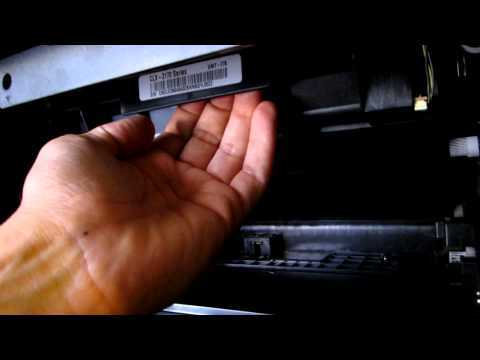 How to remove the Samsung CLX-3175 TRANSFER BELT