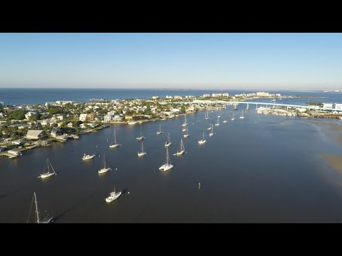 A Beautiful Day, Fort Myers Beach, Florida Drone