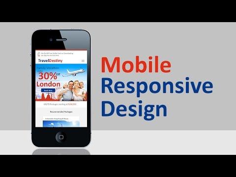 Mobile Responsive Design | Photoshop Tutorial