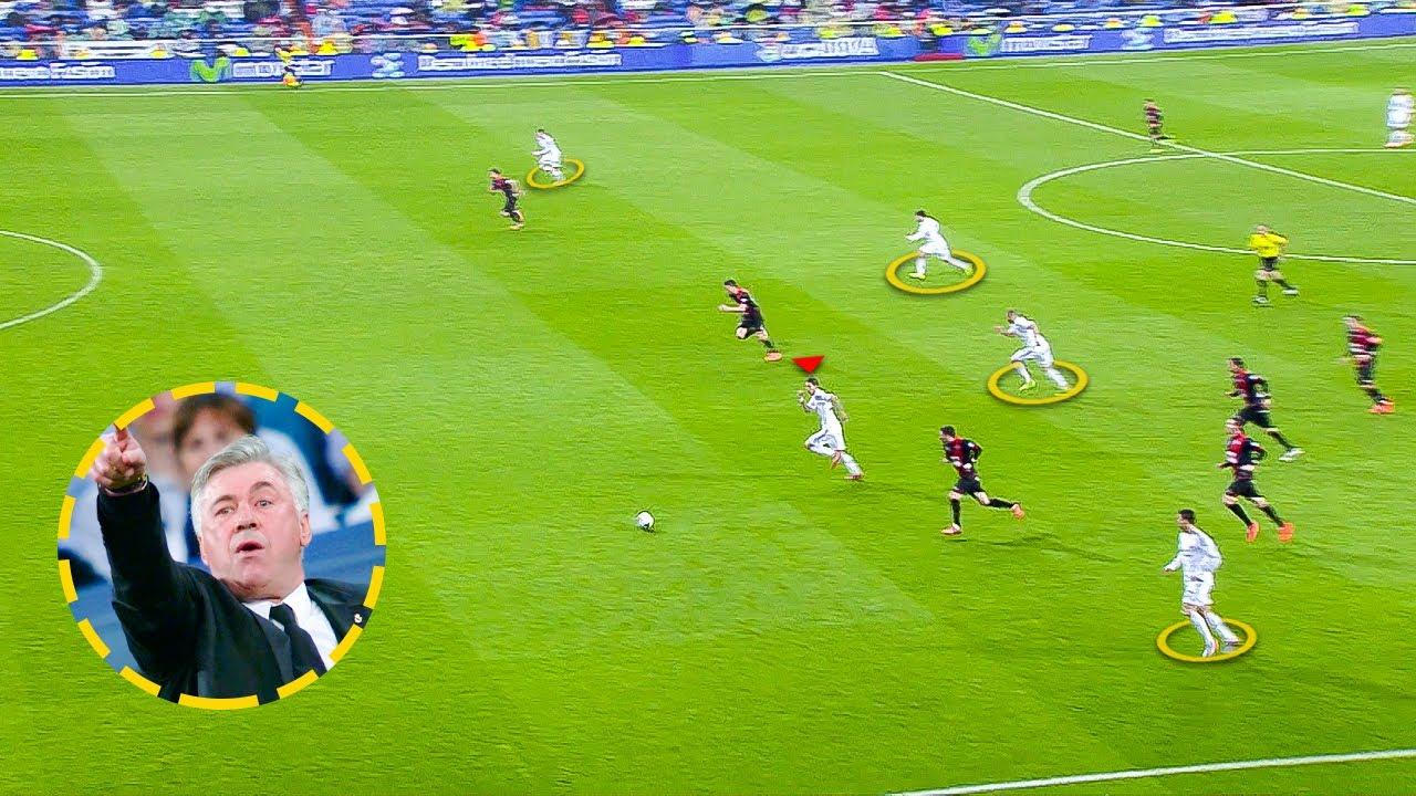 Real Madrid BEAUTIFUL Football under Ancelotti