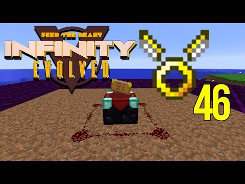 Minecraft FTB Infinity Evolved Ep: 46 - Easy Stable Ingots for Angel Wings