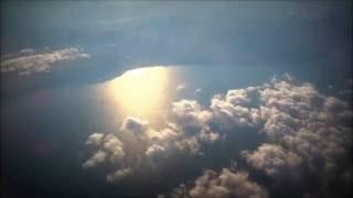 Взлет в Сочи. Полет над Сочи и вид на Эльбрус с высоты.