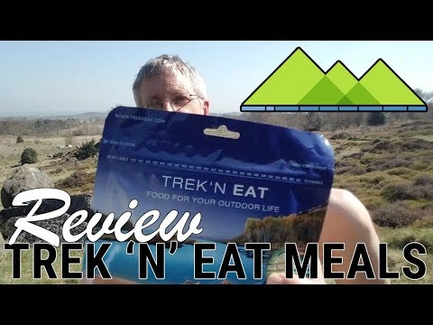 Compact Lightweight Vango Cooking Stove and Trek N Eat Camping Food Review