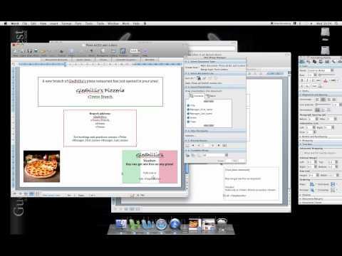 Word Mac 2008 HOW TO mail merge
