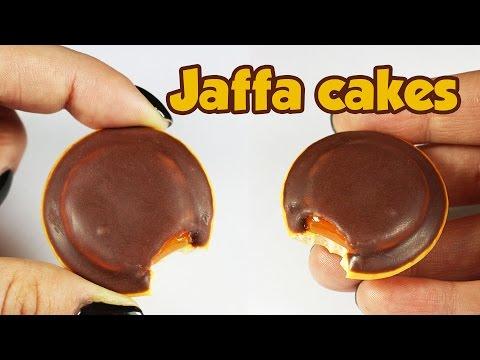 polymer clay Jaffa Cakes TUTORIAL