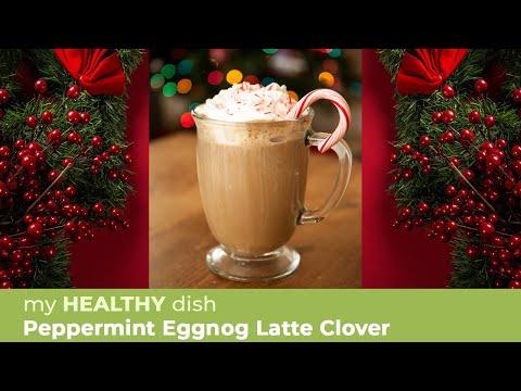 Peppermint Eggnog Latte Clover