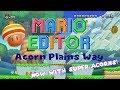 Mario Editor 1.2 - Acorn Plains Way Update