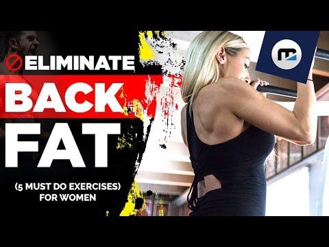 🚫Eliminate Back Fat (5 MUST DO EXERCISES) for Women | #girlswholift