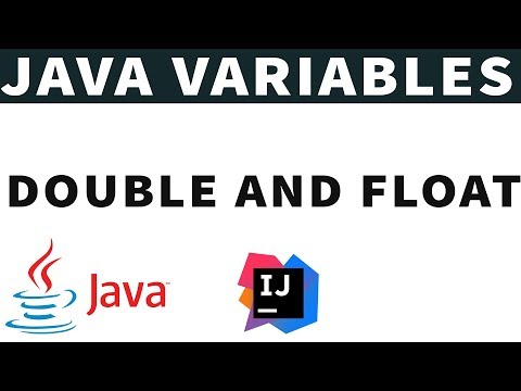 Java Intro to Double & Float Data types & Concatenation Java Series- Part 4