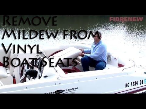 Remove Mildew from your Boat Seats