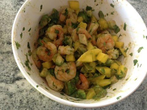 Shrimp Appetizer Recipe (Cold Shrimp Salad Recipe)