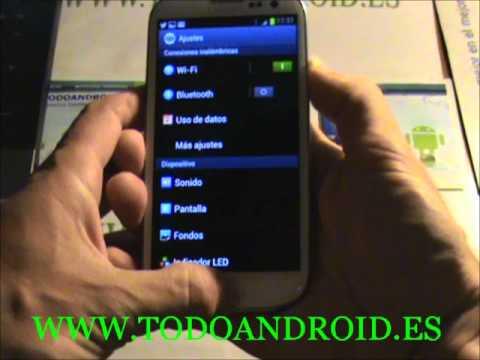 Como capturar la pantalla en el Samsung Galaxy S3