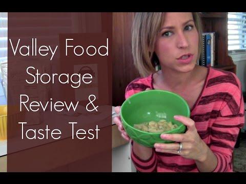 Valley Food Storage Review & Taste Test