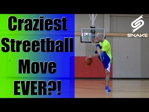 Craziest Streetball Move Ever? Advanced Crazy Legs Crossover Ankle Breaker - Handles Skills