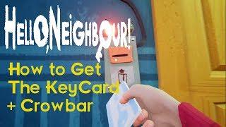 Hello Neighbor act 3 - How to Get The Blue Key!!! - Bpro MC