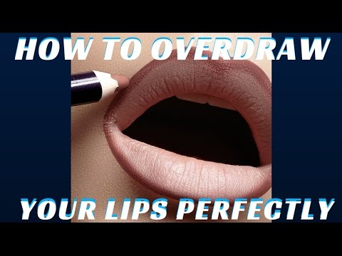 How to Overdraw your Lips to create a fuller mouth | Pt. 4 of 4 Part Series - mathias4amakeup