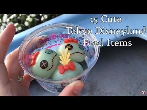 15 Cute and Delicious Tokyo Disneyland Food Items