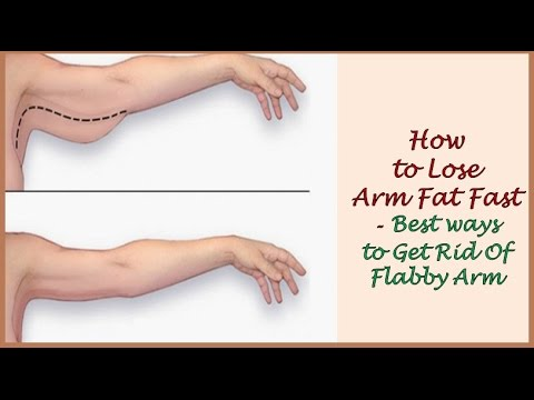 How to Lose Arm Fat Fast   Best ways to Get Rid Of Flabby Arm